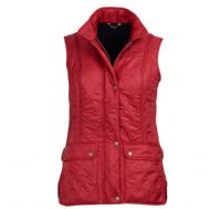 Barbour Wray Gilet  - Chilli Red -  LGI10017RE54